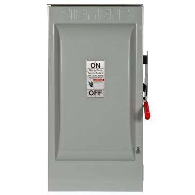 Heavy Duty 200 Amp 240-Volt 2-Pole Outdoor Fusible Safety Switch