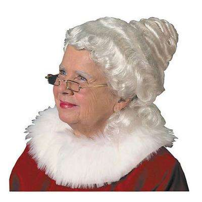 Adult Beautiful Mrs. Claus Wig