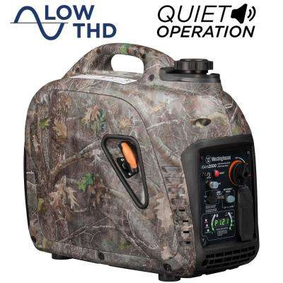 iGen TrueTimber Camo 2,500-Watt Gas Powered Recoil Start Inverter Generator with Parallel Capability