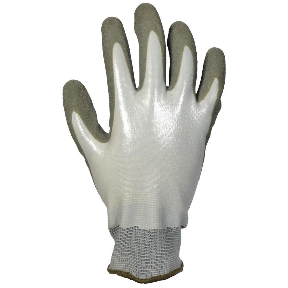 Men's Large Water Resistant Sandy Nitrile Dip Glove (2-Pair)