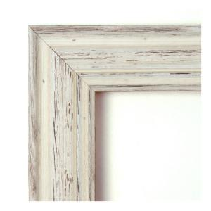 Amanti Art Country White Wash Wood 21 In W X 25 In H Distressed