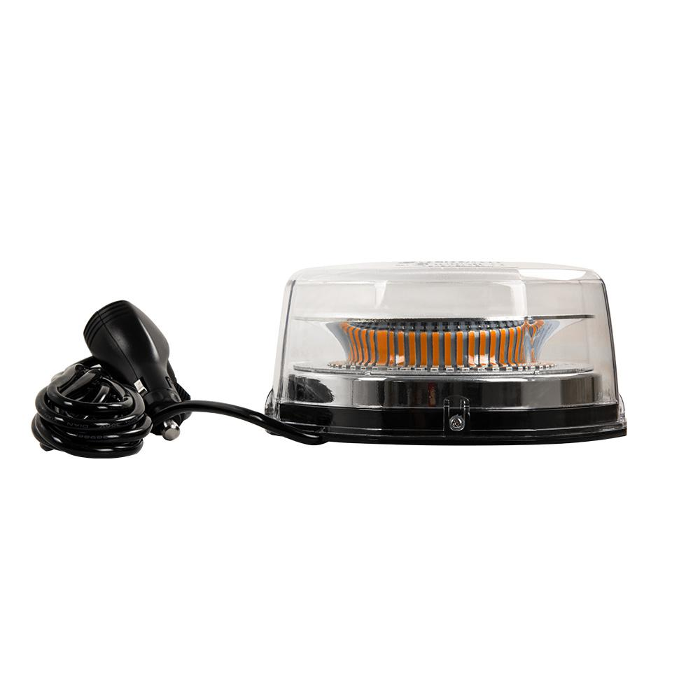 Light bars auto accessories the home depot led low profile emergency alert beacon with clear lens and amber lights aloadofball Image collections