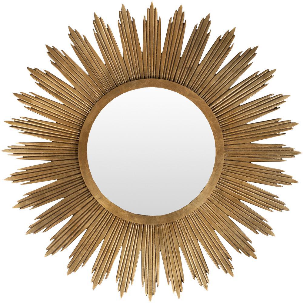 Harleston 47 in. x 47 in. Contemporary Framed Mirror