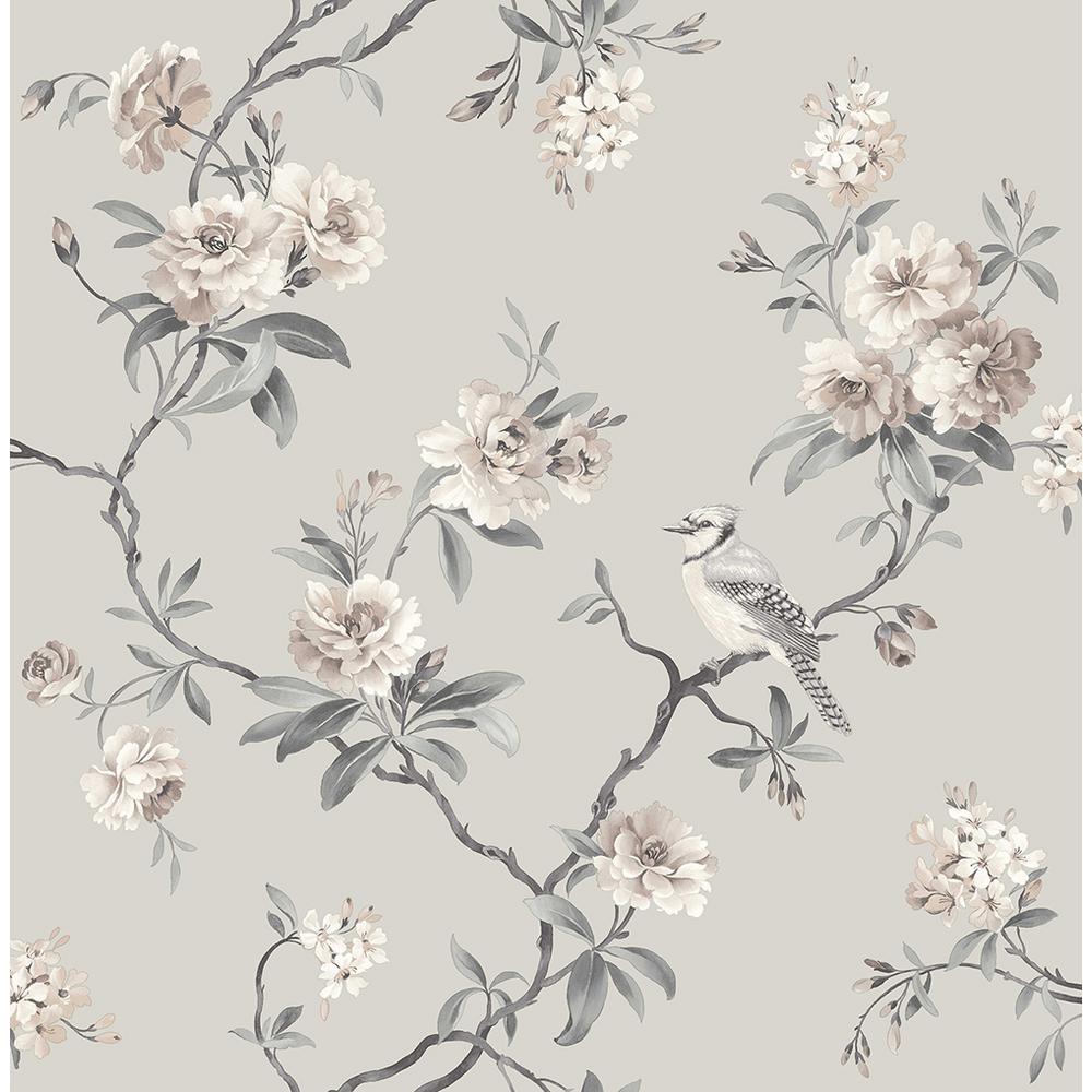 Fine Decor 56 4 Sq Ft Chinoiserie Stone Floral Wallpaper 2900