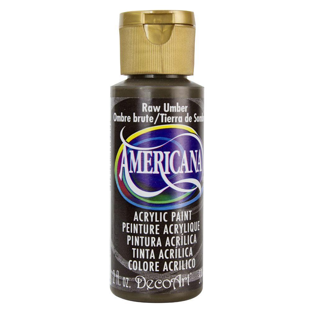 Americana 2 oz. Raw Umber Acrylic Paint
