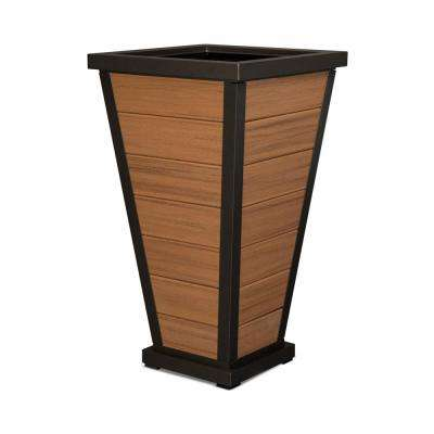 Pyramid 24 in. 7-Board Plastic Planter