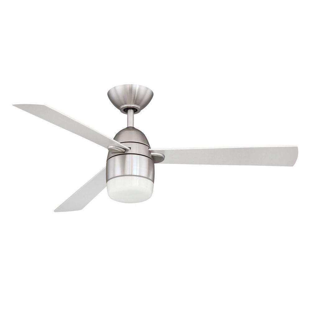 Filament Design Ciopeia 42 In Satin Nickel Indoor Ceiling Fan