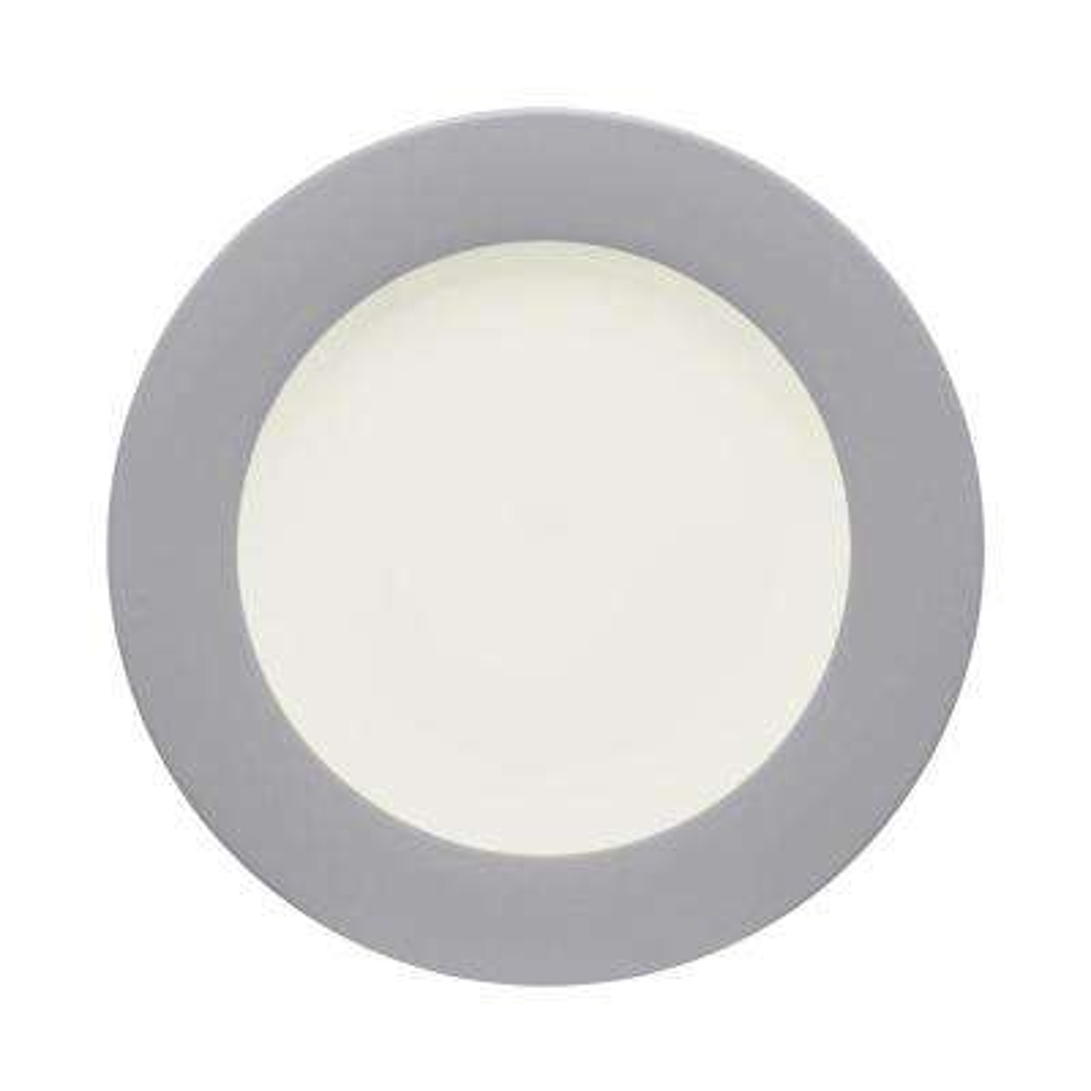 Colorwave 8.25 in. Slate Rim Salad Plate