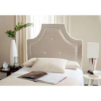 Tallulah Smoke Twin Headboard