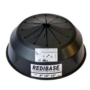 Redi Base 8 in. x 24 in. Disposable Plastic Footing for In-Ground ...