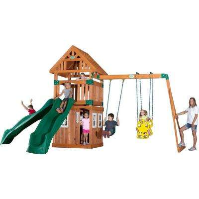 Outing All Cedar Playset