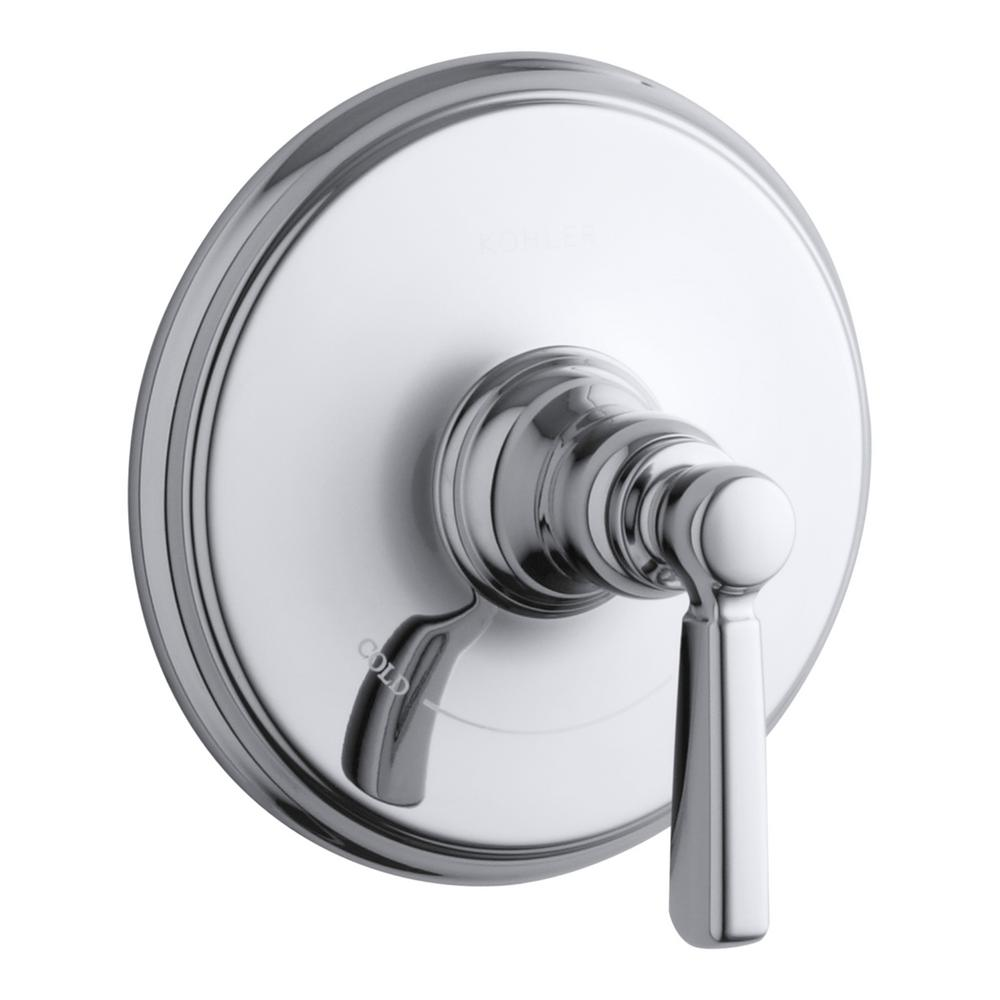 Bancroft 1-Handle Thermostatic Valve Trim Kit with Ceramic Lever Handle in