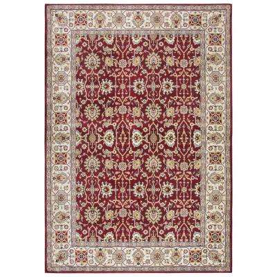 Zenith Red Multi 10 ft. x 13 ft. Area Rug