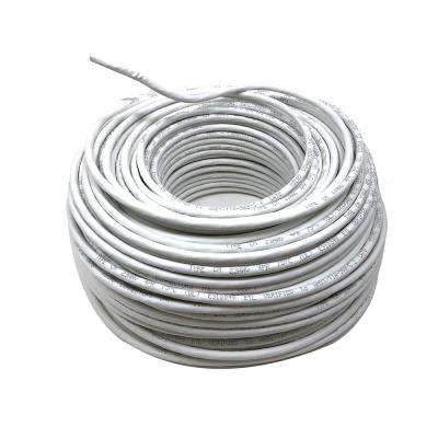100 m (328 ft.) Cat6 Unshielded Twisted Pair Solid 24AWG - White