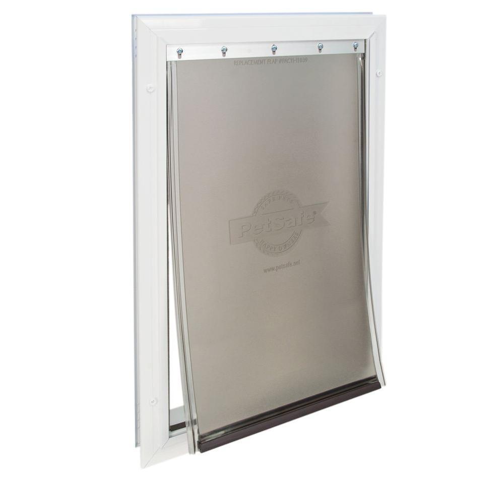 PetSafe 10-1/4 in. x 16-1/4 in. Large Freedom Aluminum Pet Door