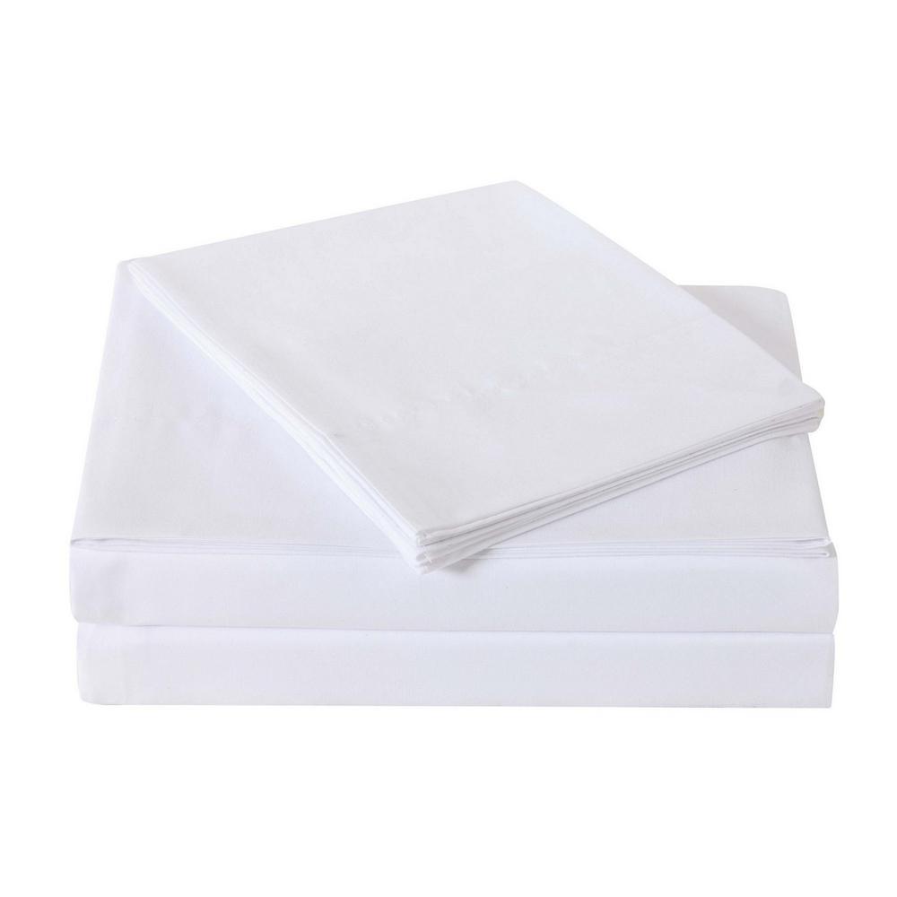 Truly Soft Everyday White Full Sheet Set