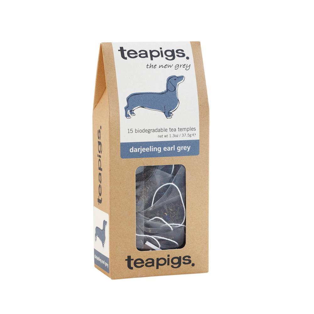 Darjeeling Earl Grey Tea Bags 15 Temples Tea Bags (6-Boxes)