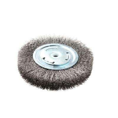 6 in. x 1 in. Crimped Wire Wheel Brush