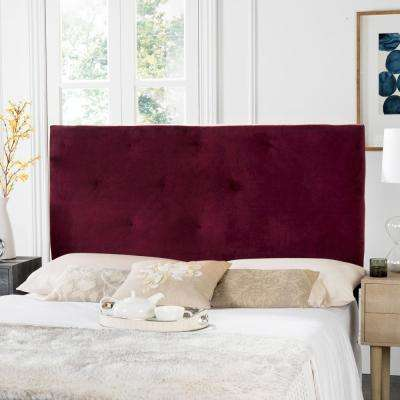 Martin Bordeaux Queen Headboard