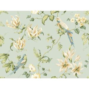 York Wallcoverings Tropical Floral Wallpaper by York Wallcoverings