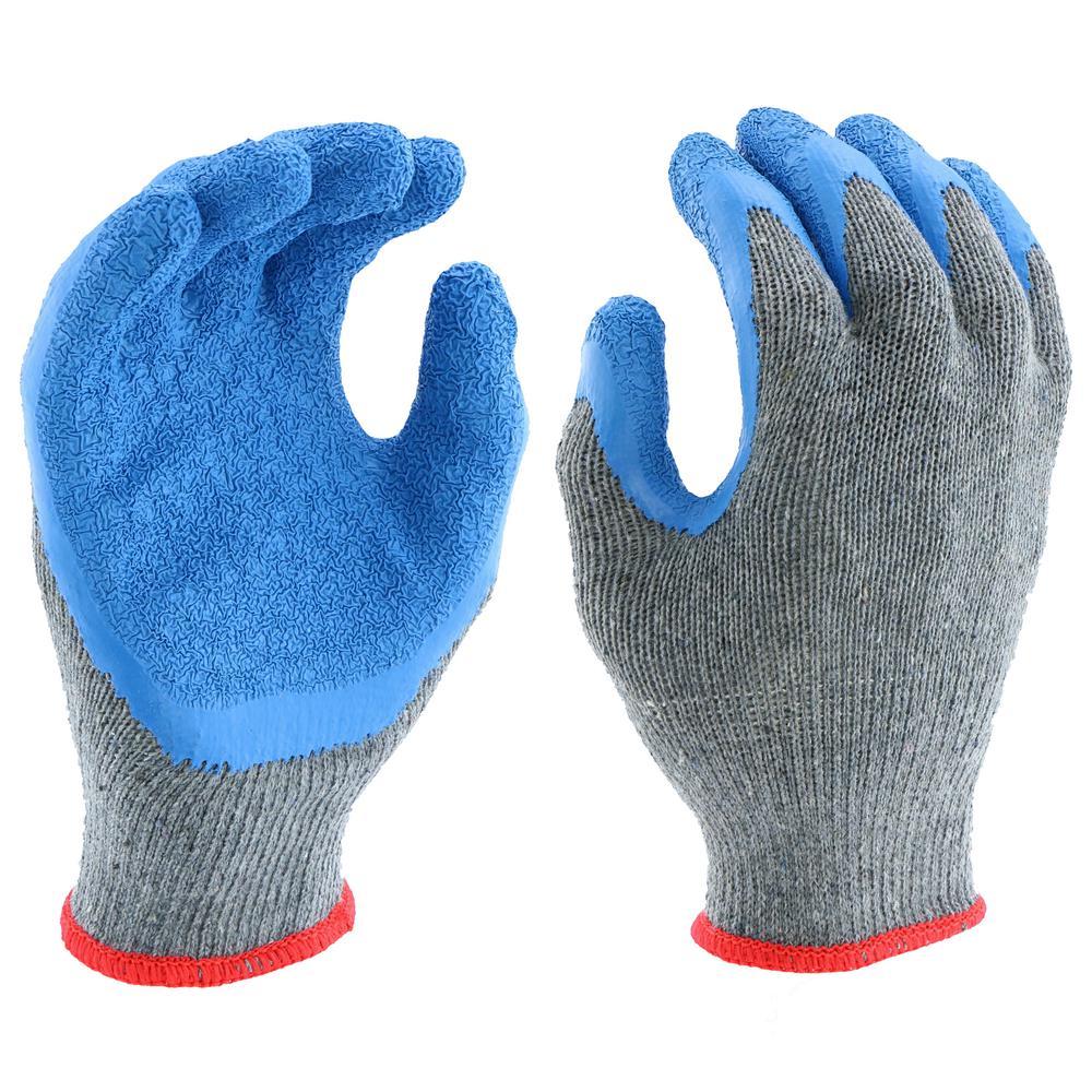 Latex Gripper Knit Glove
