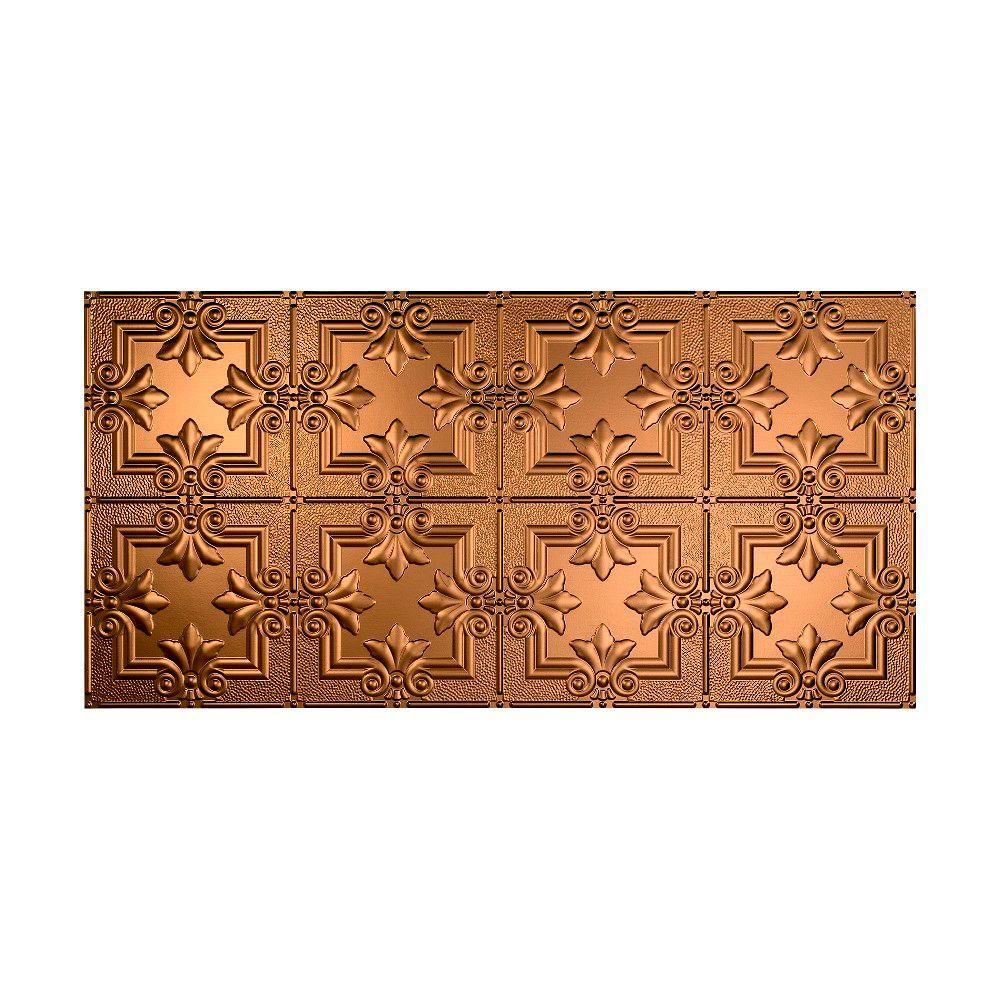 Regalia 2 ft. x 4 ft. Glue-up Ceiling Tile in Oil