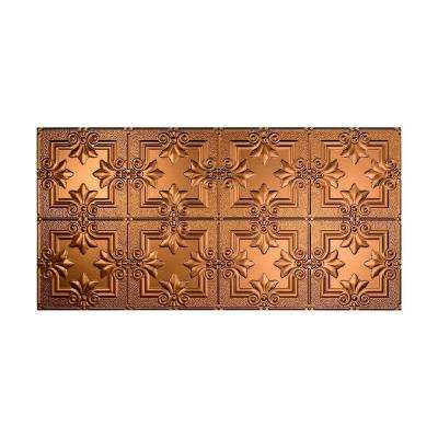 Regalia 2 ft. x 4 ft. Glue-up Ceiling Tile in Oil Rubbed Bronze