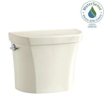 Wellworth 1.1 or 1.6 GPF Dual Flush Toilet Tank Only in Biscuit