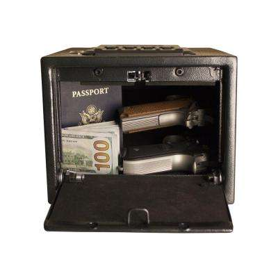 0.24 cu. ft. Quick Access Safe Electronic Lock, Black