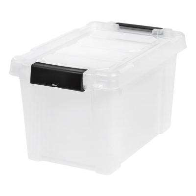 5 Gal. Store-It-All Storage Bin in Clear (4-Pack)