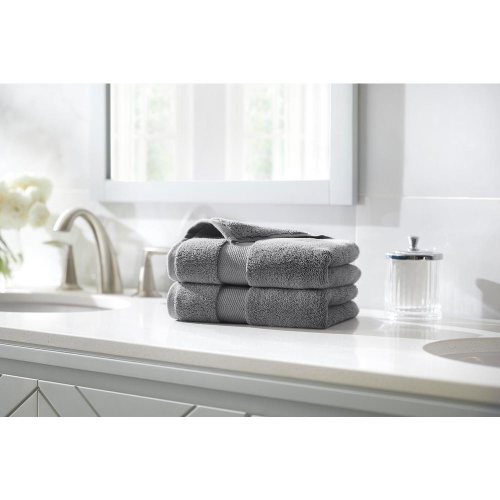Plush Soft Hand Towel (Set of 2)