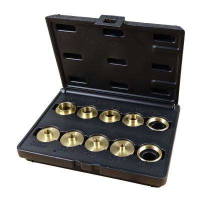 Brass Router Bushing Set with Case