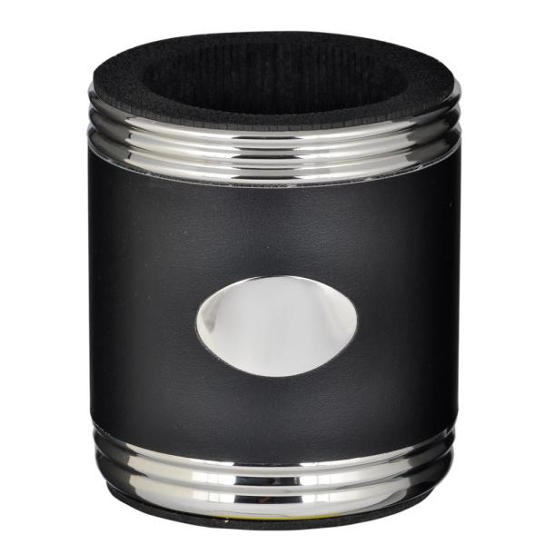 Visol Taza Black and Stainless Steel Can Holder