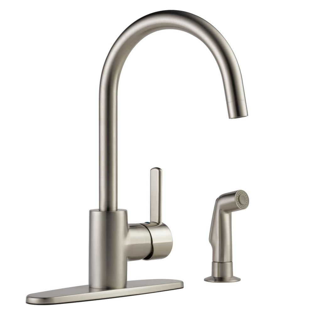 Peerless Kitchen Faucets: Peerless Apex Single-Handle Standard Kitchen Faucet With