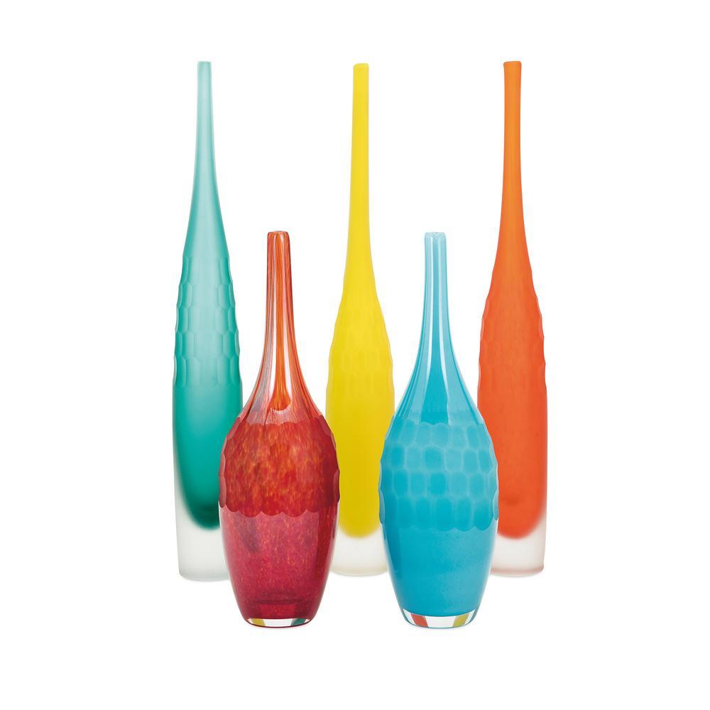 Kepla Glass Vases (Set of 5)