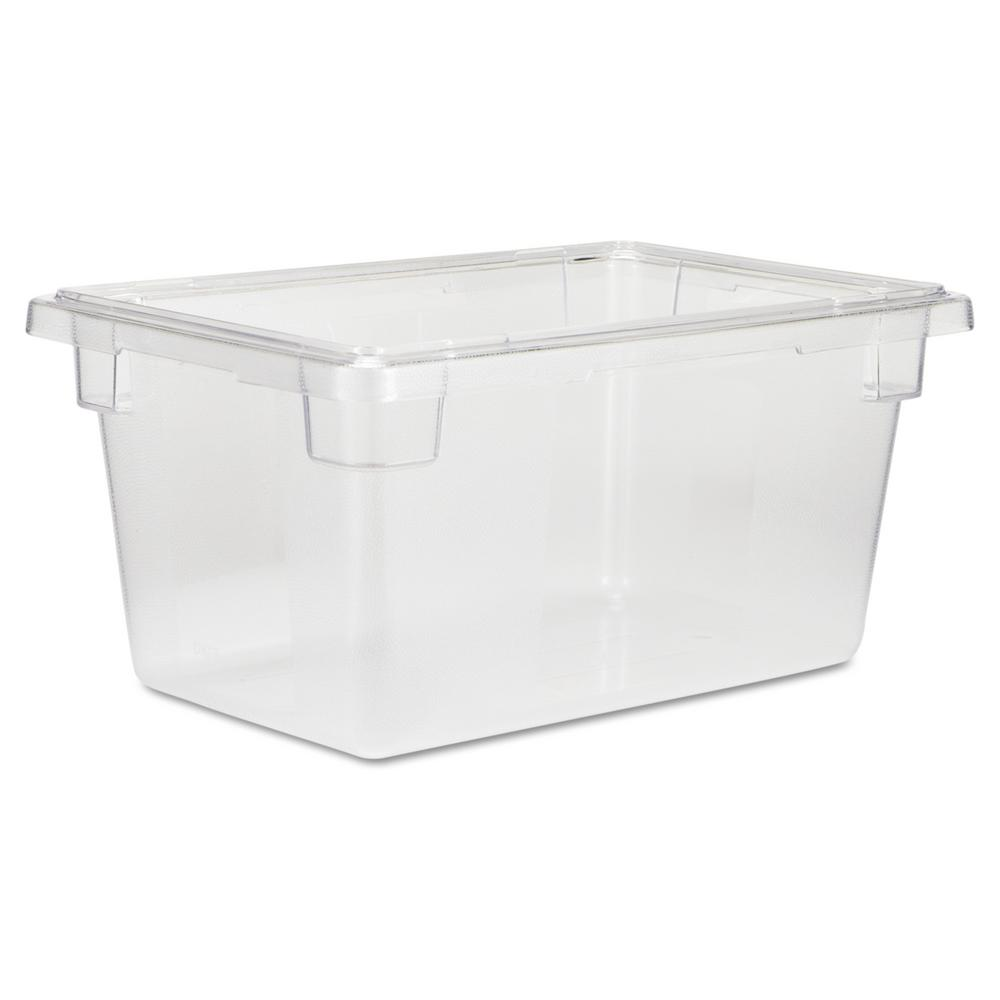 Rubbermaid Commercial Products 5 gal. Clear Food/Tote Box