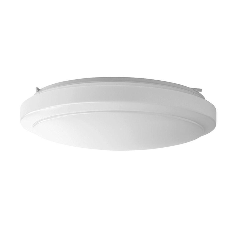 20 in. Bright White Round LED Flushmount Ceiling Light Fixture Dimmable