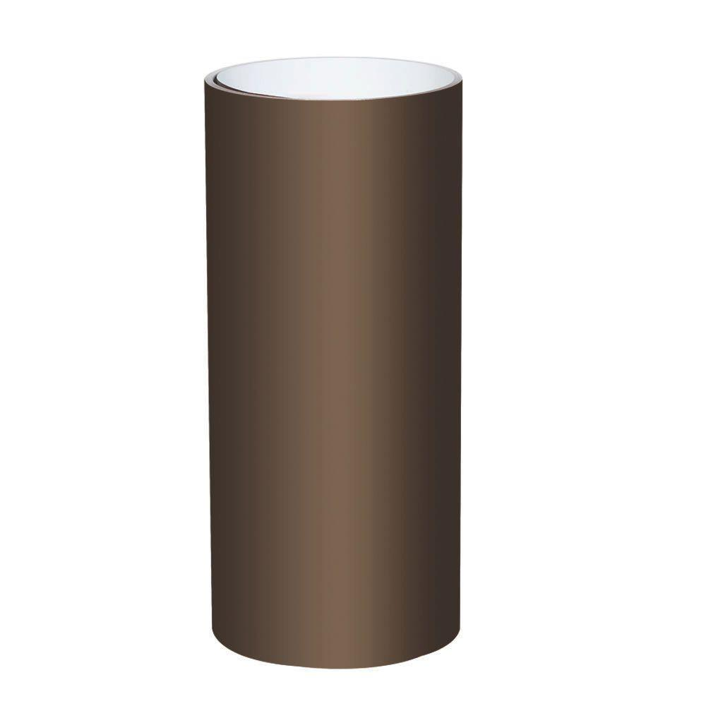 24 in. x 50 ft. PVC Certainteed Musket Brown Trim Coil
