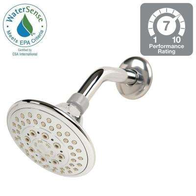 5-Spray 5 in. Fixed Showerhead in Chrome