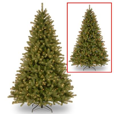 7.5 ft. Lakewood Spruce Tree with Dual Color LED Lights