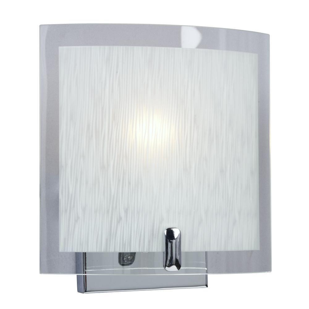 Filament Design Negron 1-Light Chrome Incandescent Sconce
