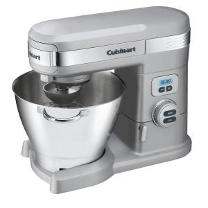 Cuisinart 5.5 Qt. 12-Speed Brushed Chrome Stand Mixer by Cuisinart