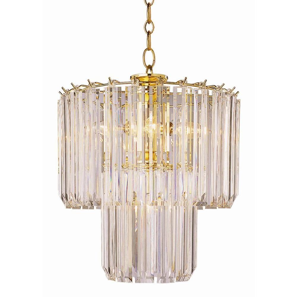 Bel air lighting stewart 5 light polished brass chandelier with bel air lighting stewart 5 light polished brass chandelier with beveled acrylic crystal shades aloadofball
