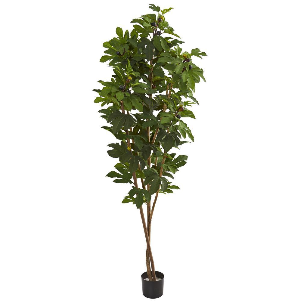 Indoor 81 in. Fig Artificial Tree