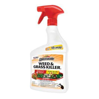 Weed and Grass Killer 32 oz. Ready-to-Use Sprayer