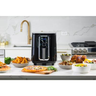 modernhome-7 Qt. Ceramic Family-Size Air Fryer with Accessories and Full Color Recipe Book