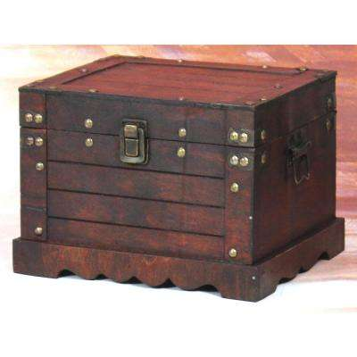 Antique Large Cherry Trunk