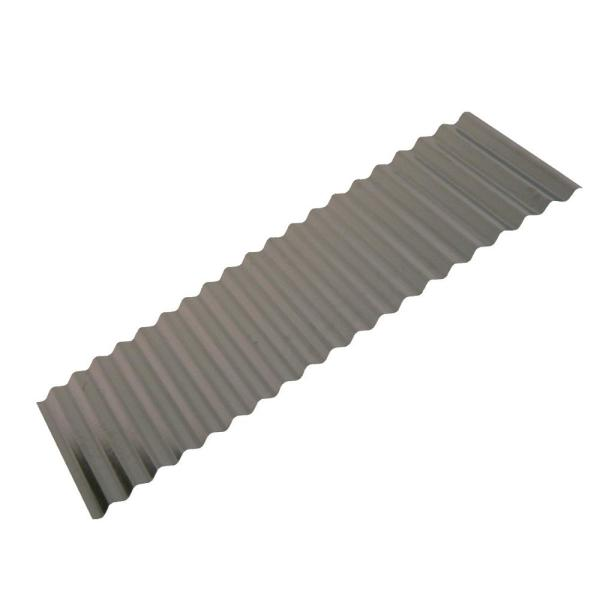 Gibraltar Building Products 10 Ft Corrugated Galvanized Steel Utility Gauge Roof Panel 13504 The Home Depot