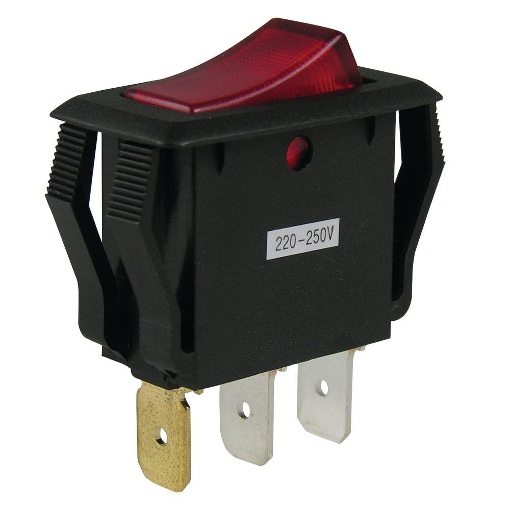 Gardner Bender 16 Amp Single-Pole Rocker Switch on illuminated rocker switch, illuminated switch circuit, illuminated toggle switch wiring, illuminated switch schematic, illuminated switch transmission,