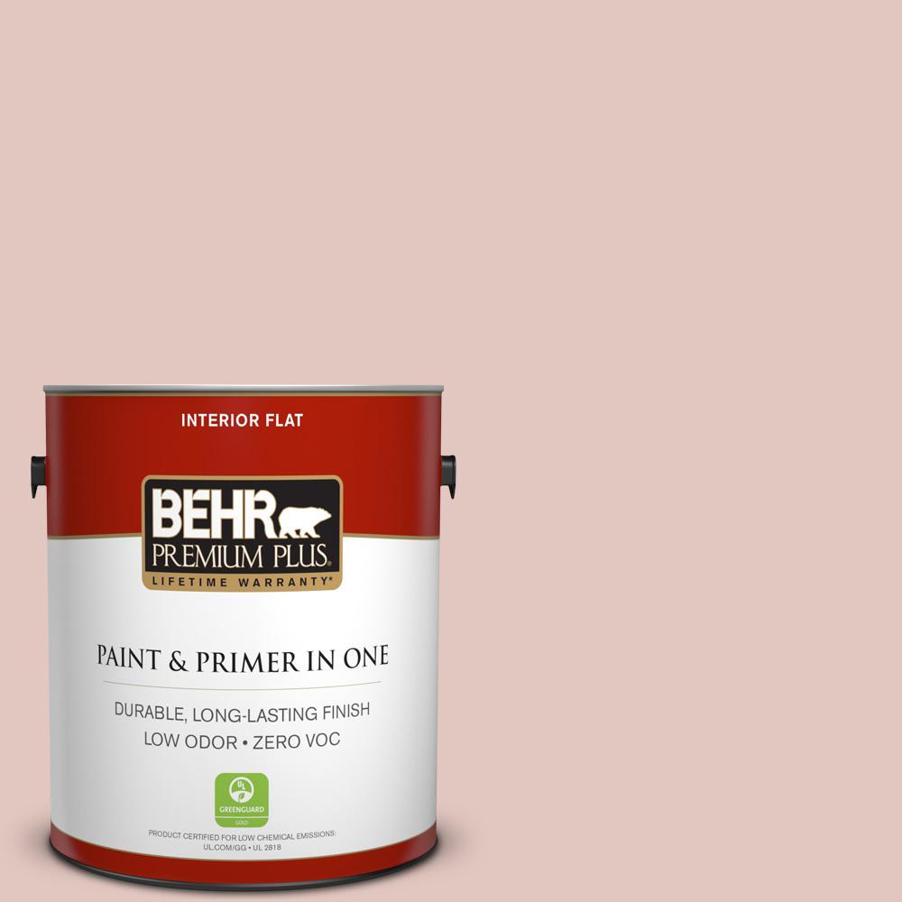 BEHR Premium Plus 1-gal. #S170-2 Rosewater Flat Interior Paint